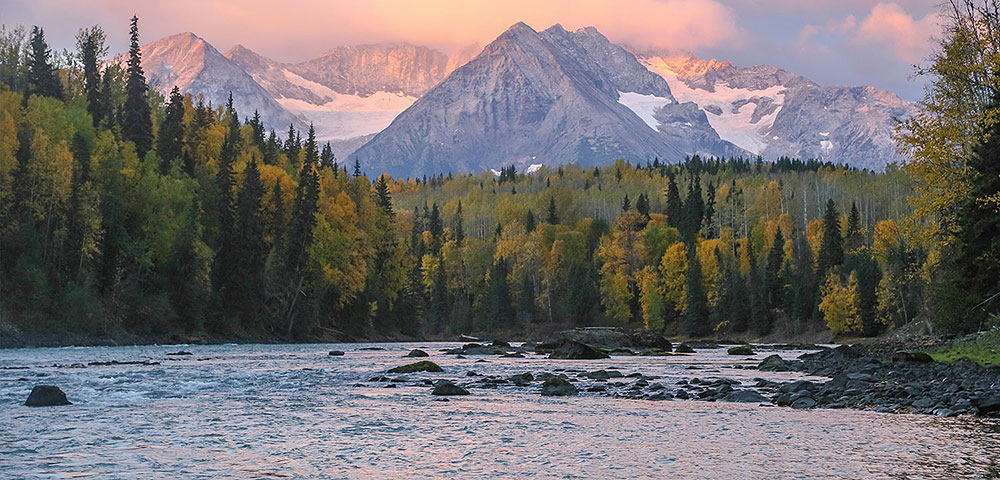 Skeena River, courtesy of Ken Morrish
