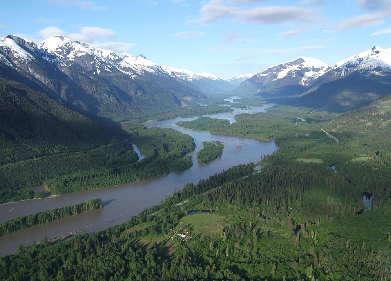 Skeena River Floodplain, courtesy of Adrian de Groot