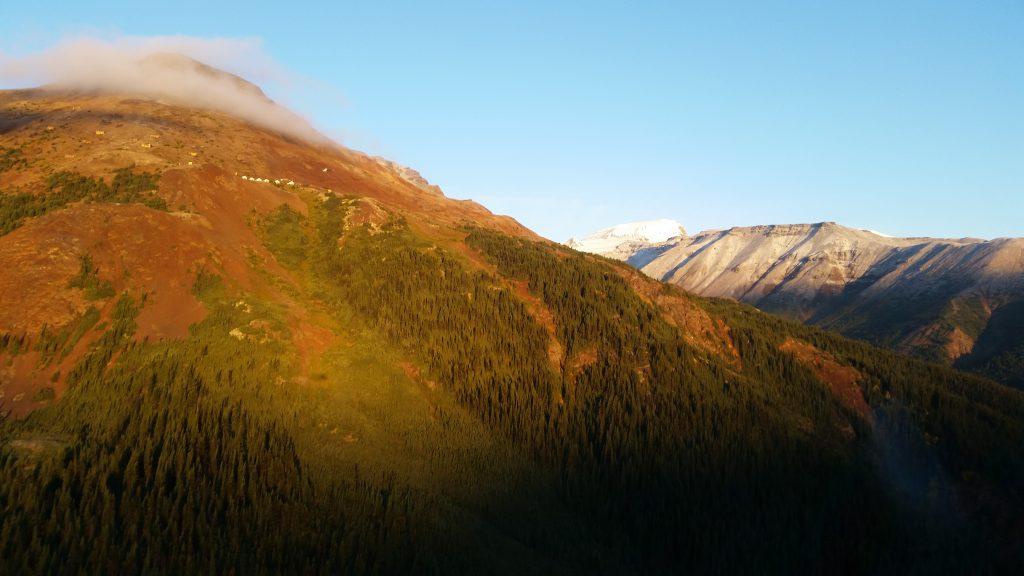 landscape in tahltan region